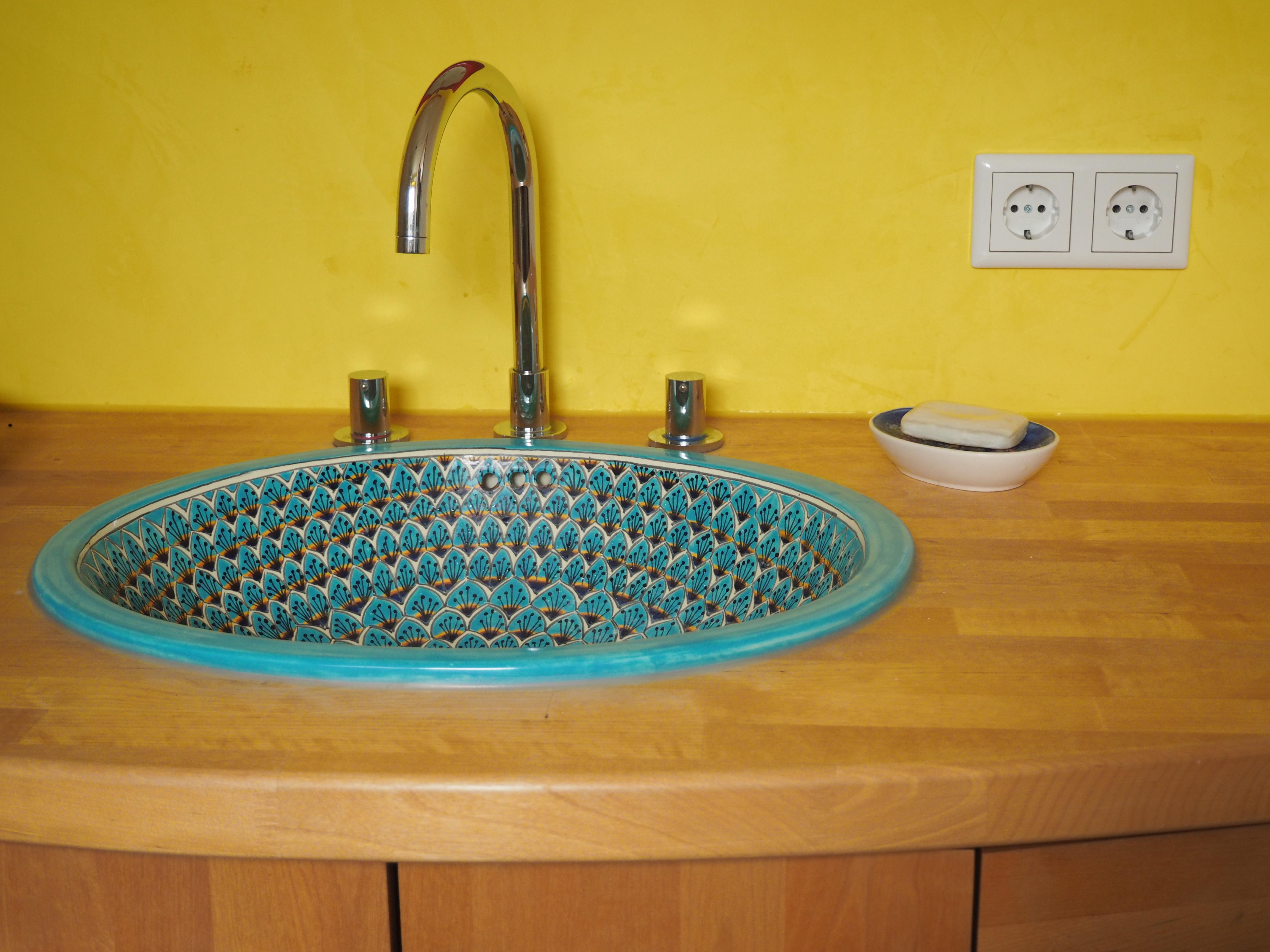 Badezimmermöbel in Birke