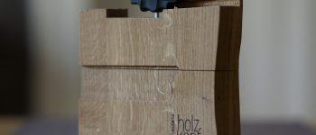 Werkzeug- und Schraubenaufbewahrung zur Befestigung der Ansteckplatte